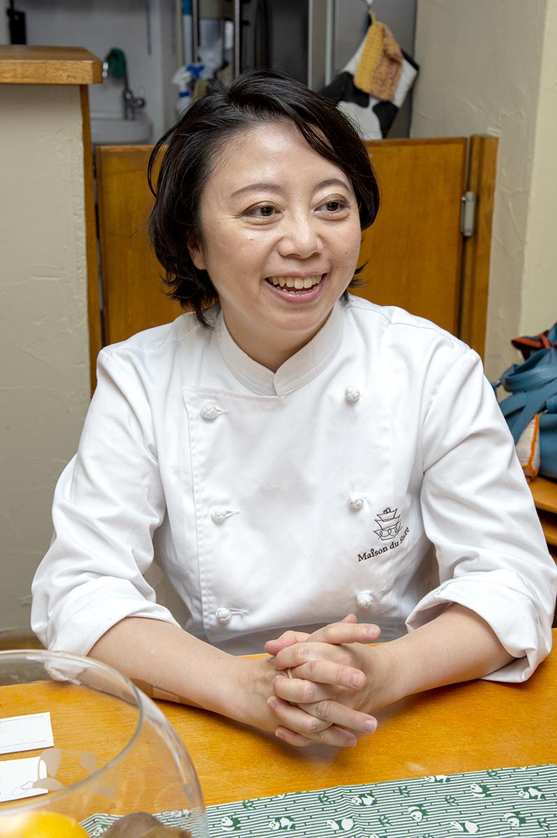 佐藤友美さん ラ・メゾン・ド・スークル 代表取締役 / ケーキデザイナー